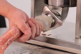 worst maken met een machine