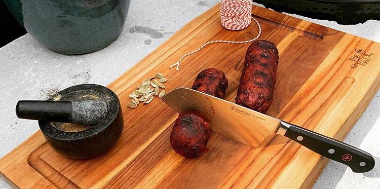 Zelf grillworst maken recept en ingrediënten